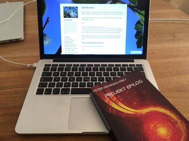 «Projekt Epilog»ist der dritte Teil der Reihe «Die Heimkehr» von Peter Georgas-Frey.