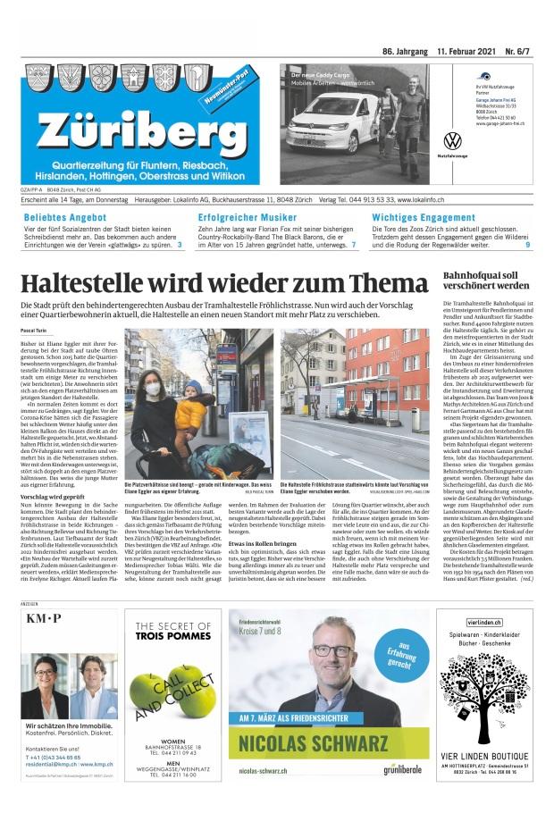 Züriberg: «Haltestelle wird wieder zum Thema»